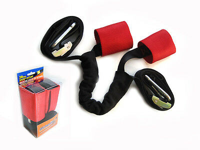 Extra Strong Transportation Tiedown Straps With Harness Motorbike Scooter Trike