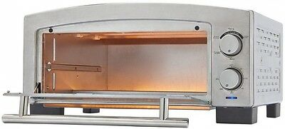 Oven Counter Pizza Top Commercial Stainless Steel Bake Snack Kitchen Electric