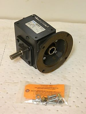 Morse Raider Right Angle Worm Gear Speed Reducer 5:1 Left Output 154Q140L5