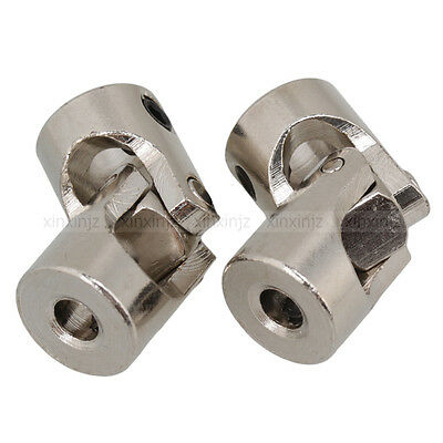Shaft Coupling Motor Boat Connector Stainless Steel Universal Joint 4x5mm 2pcs