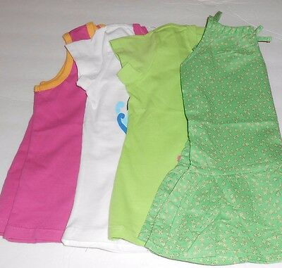 The Childrens Place Toddler Girls Four (4) Piece Lot Graphic T-Shirts 3T NWT