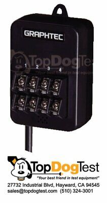 New Graphtec GS-4TSR Thermistor Input Module, 4-Channel, Logic or Pulse 4-Ch