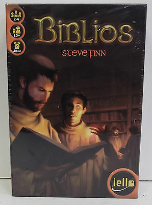 Biblios Card Game 51028 by IELLO New. Sealed