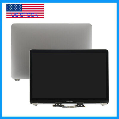 """LCD Display Screen Assembly For Apple Macbook Pro 13"""" A1706 A1708 2016 2017 Gray"""