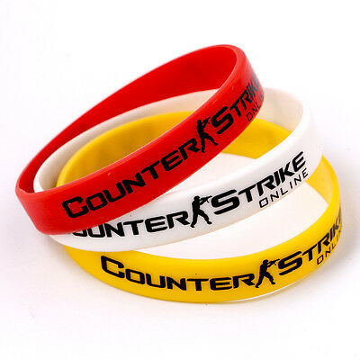CSGO csgo Theme Silicone Rubber Wristbands Bracelets Hand Catenary Jewelry Gift