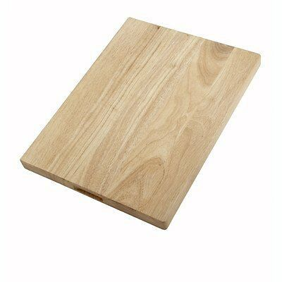 WinCo Durable Hardwood Cutting Board 18 X 24 Inch 1 Each.
