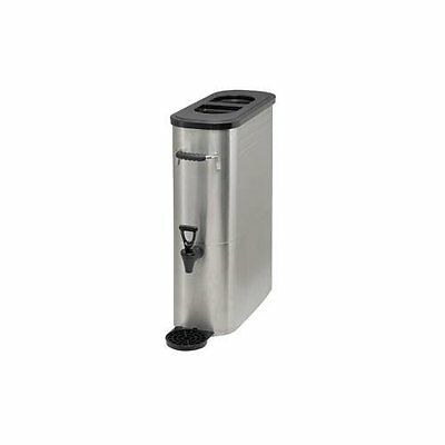 Iced Tea Dispenser 3 Gallons Stainless Steel WinCo Ssbd-3 Restaurant Supplies