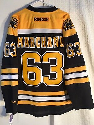 NHL Boston Bruins Brad Marchand Premier Ice Hockey Shirt Jersey