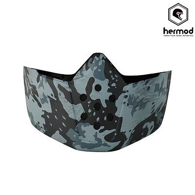 Shark Raw Helmet Replacement Face Mask - Camo
