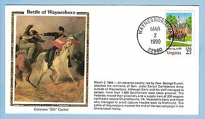 Colorano Civil War Cover C215 General George Custer at Battle of Waynesboro