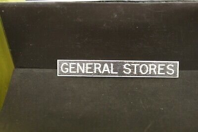 DOLLS HOUSE  Metal  Sign = GENERAL STORES