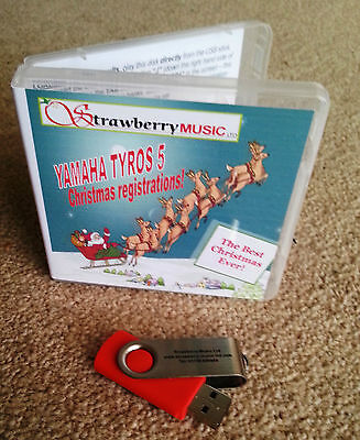 """USB AND BOOK SET 100/'s of NEW REGISTRATIONS /""""THE BEST CHRISTMAS EVER/"""" TYROS 5"""