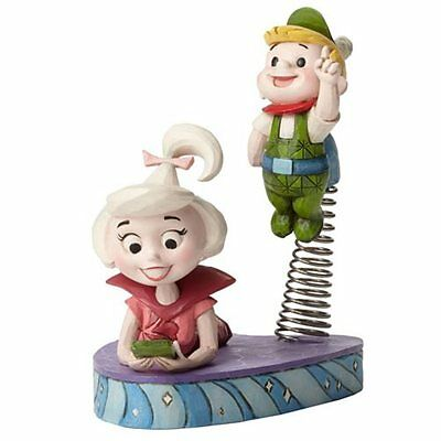 The Jetsons Jim Shore Judy and Elroy Jetson Statue