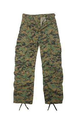 Rothco 2366 Woodland Digital Camo Vintage Paratrooper Fatigue Pants