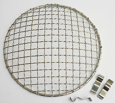 Stainless Steel Headlamp Grill / Stone Guard for Classic Mini Triumph MG etc