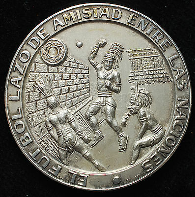 1970 Rare silver Mexico world cup  Jules rimet cup .999 fine National Team