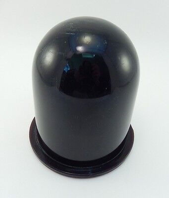 Vintage Deep Red Glass GB Inc Globe 14222 PC-5 Lens, Marine Lamp Light 5""