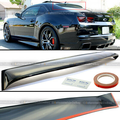 Fit 10-16 Chevy Camaro Rear Windshield Window Roof Vent Visor Spoiler Wing