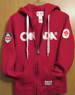 HBC~Olympic Red Hoodie ~ Women's Extra Small