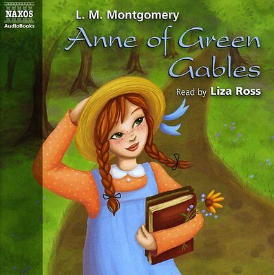 Anne Of Green Gables - L.M. Montgomery (1999, CD NEU) NAR BY Liza Ross