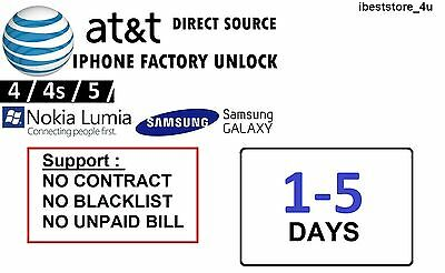 AT&T Kyocera Hydro Air C6745 | FACTORY UNLOCK SERVICE by CODE | FAST Fast