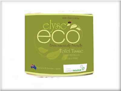 Elyse Eco Eco-400 Toilet Roll 400 Sheet 2Ply 48Rolls