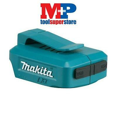 Makita Adp05 Usb Ports Battery Charger Adaptor For Bl1830 Bl1840 Bl1850