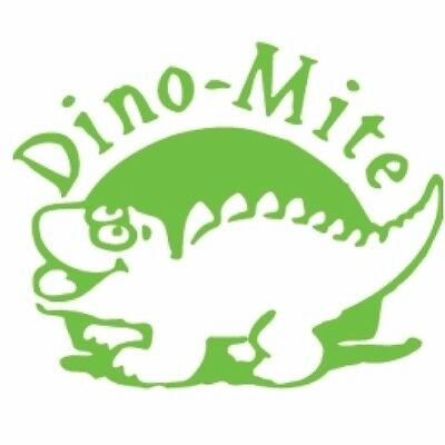 1 x X-Stampers CE-16 Merit Stamps DINO MITE GREEN 10910