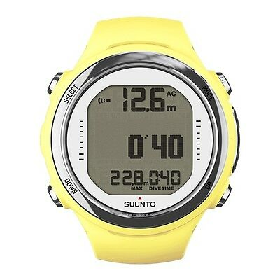 Suunto D4i Novo Sun Scuba Diving Computer Dive Watch with Free USB Interface