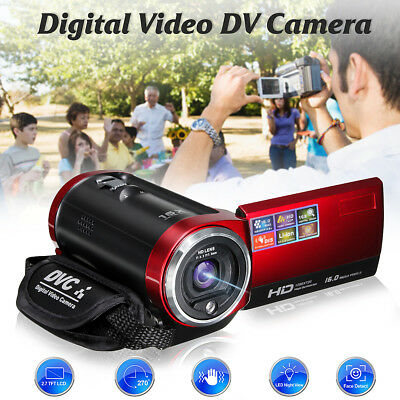 16MP 2.7'' TFT LCD 720P HD 16X Zoom DV Digital Video Camera Camcorder DVR AU