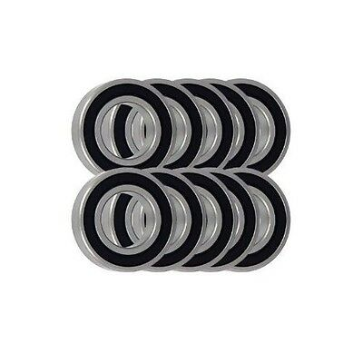 Pack of 10 6804 61804 20x32x7mm 2RS Thin Section Deep Groove Ball Bearing