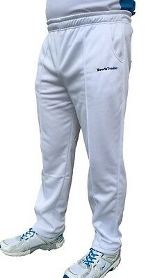 Wessex White Sports Trousers (unisex)