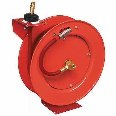Lincoln Industrial 3/8In X 50Ft Assembled Air Hose Reel Lni83753 New