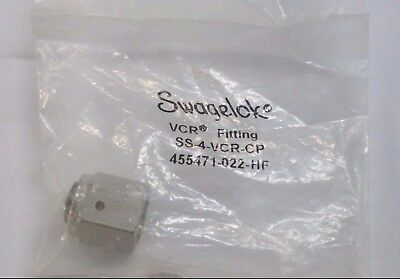 Swagelok VCR Face Seal Fitting SS-4-VCR-CP