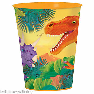 Prehistoric Dino Dinosaur Children's Birthday Party Plastic Favour Cup
