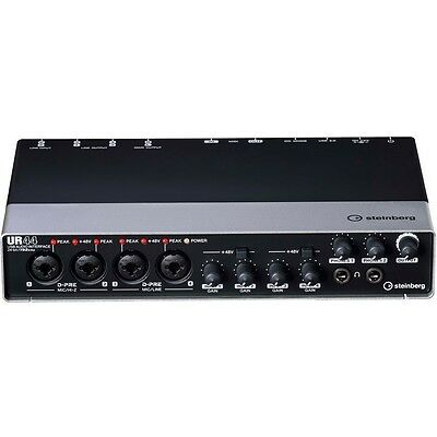 Steinberg UR44 USB 6x4 Audio Interface *New* Cubase AI Included