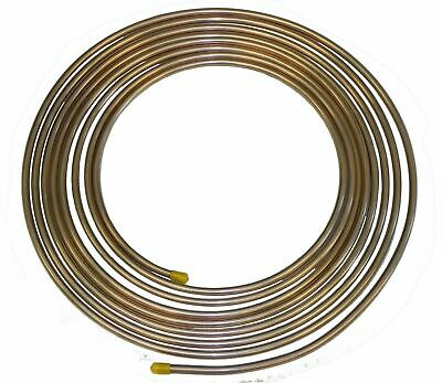 Copper Nickel Brake Fuel Line Tubing Kit 5/16 OD 25 Ft Coil Roll INLINE TUBE CN5