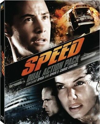 Speed / Speed 2 [New Blu-ray] 2 Pack, Ac-3/Dolby Digital, Dolby, Digital Theat
