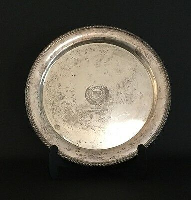 "Continental Baking Company Giant 14"" 2lbs Sterling Silver Plate Platter Twinkie"