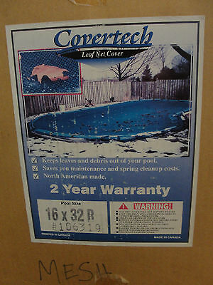 Covertech Leaf Net Cover  106319 16 x32 R