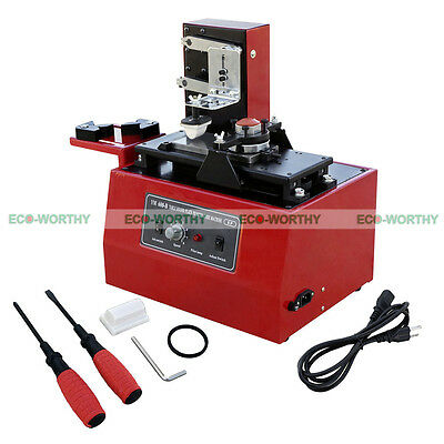 220V Multi-function Electric Pad Printer Ink Printing Machine for Code Light