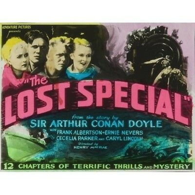 The Lost Special - Classic Cliffhanger Serial Movie DVD Frank Albertson