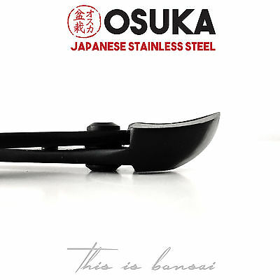 OSUKA Spherical Bonsai Concave Branch Cutters - 205mm Japanese Stainless Steel