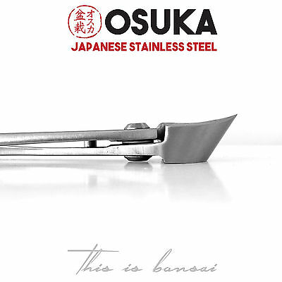 OSUKA Bonsai Branch Cutters (Concave Cutter) 210mm - Japanese Stainless Steel