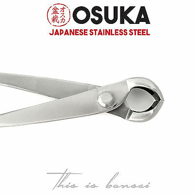 OSUKA Bonsai Knob Cutters – 210mm Japanese Stainless Steel