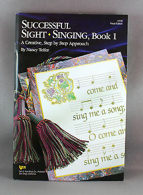 Successful Sight Singing Book 1 - A Creative Step by Step Approach - Brand New