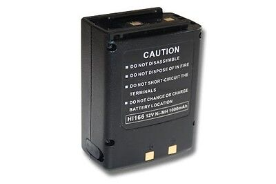 Batterie pour ICOM IC-12GAT 32A 32AT 32E A2 A20 A21 H2