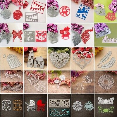 Arrival Metal Cutting Dies Stencil Scrapbook Paper Xmas Card Craft Embossing DIY