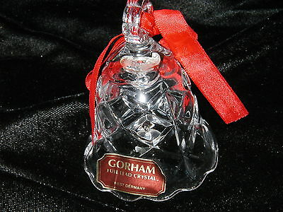 Gorham crystal glass bell 2 x 3 (Great Gift)