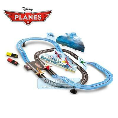 Disney Planes Racing In The Sky Slot Car Battery Track Total Length 2.22m & Dust